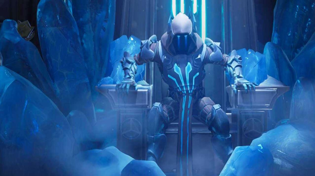 Fortnite What Were Seeing As The Ice At Polar Peak Melts