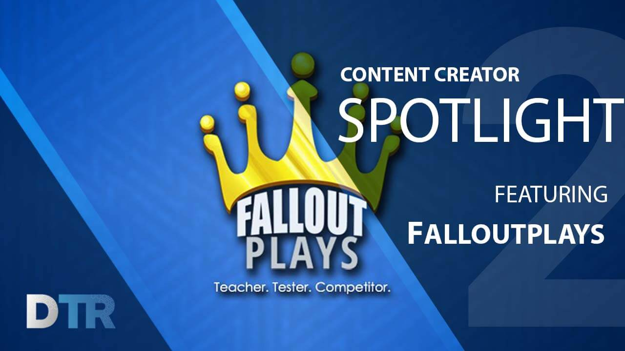 Community Content Creator Spotlight featuring Falloutplays