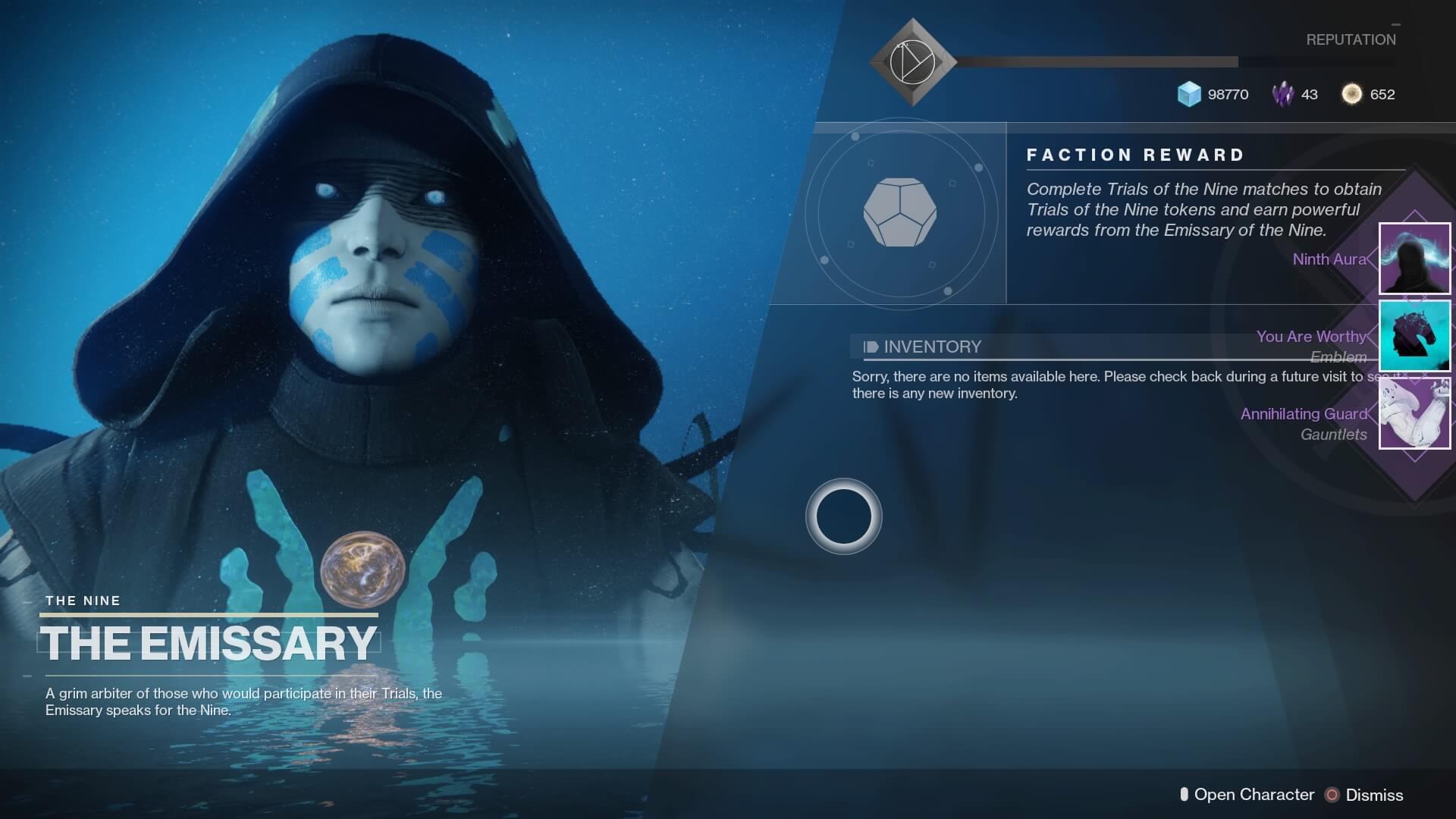 the emissary destiny 2