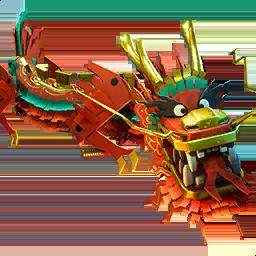 royale dragon - fortnite fire dragon glider