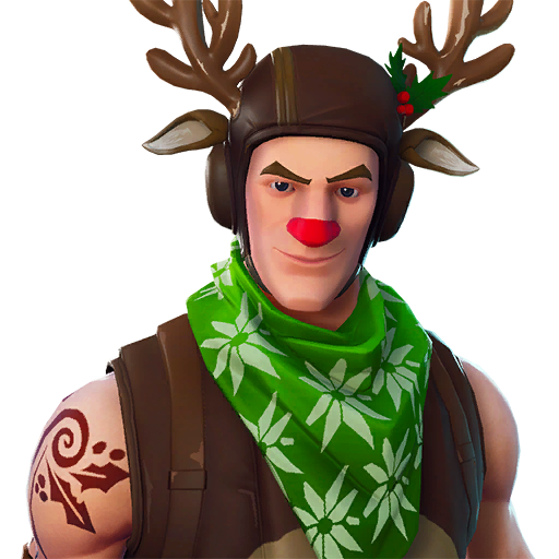fortnite shop preview of Red-nosed Ranger