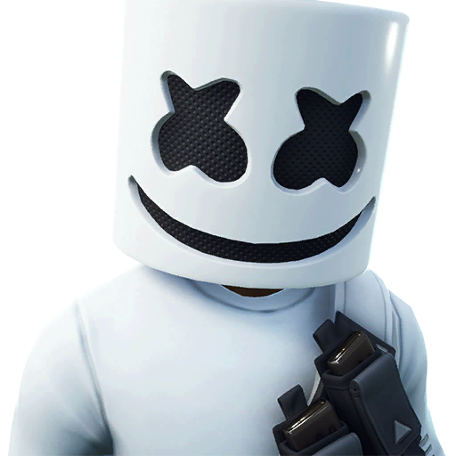 Fortnite marshmello skin