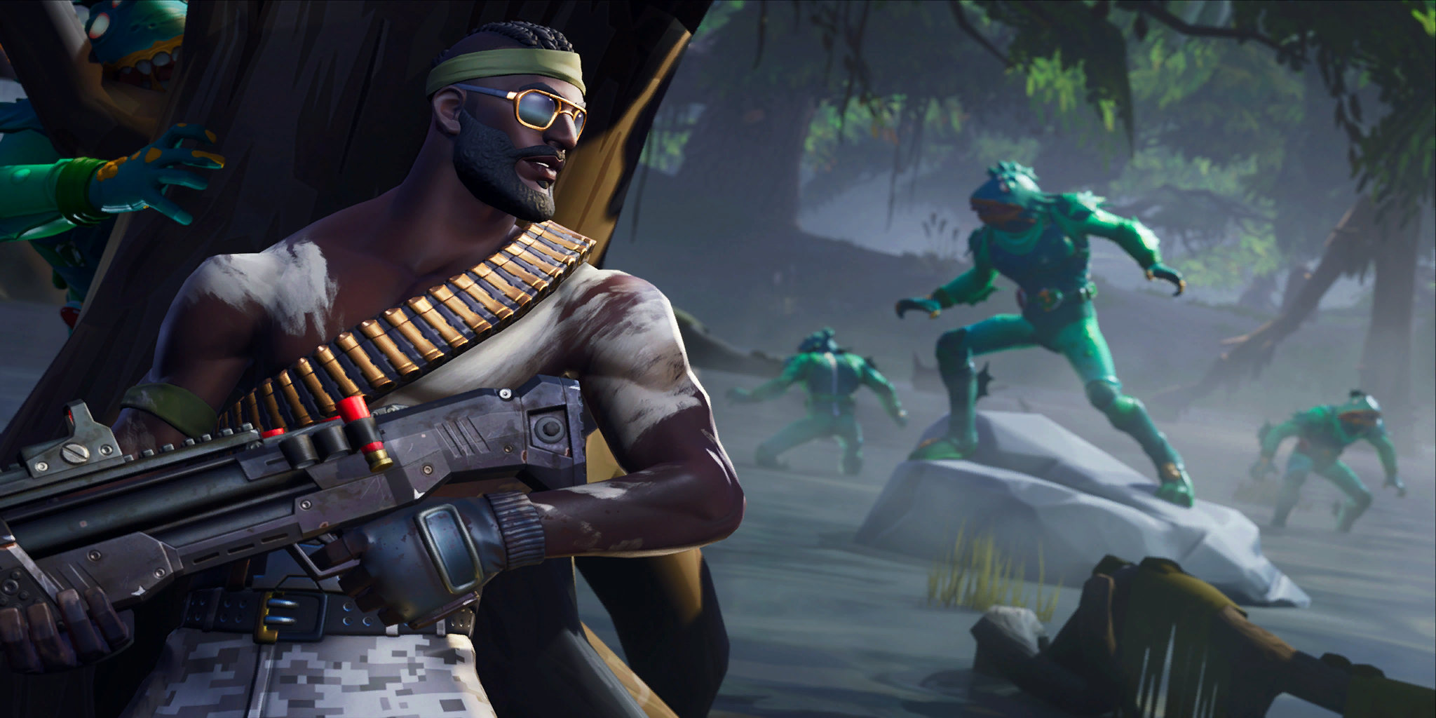 Fortnite v9 10 Downtime and Audio Improvements Announced