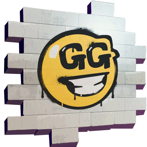 GG Smiley Skin fortnite store