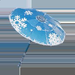 snowflake a season 2 victory royale umbrella - fortnite the umbrella season