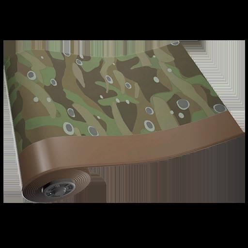 Camouflage à Bulles