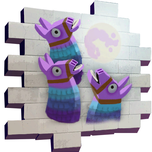 Three Llamas Skin fortnite store