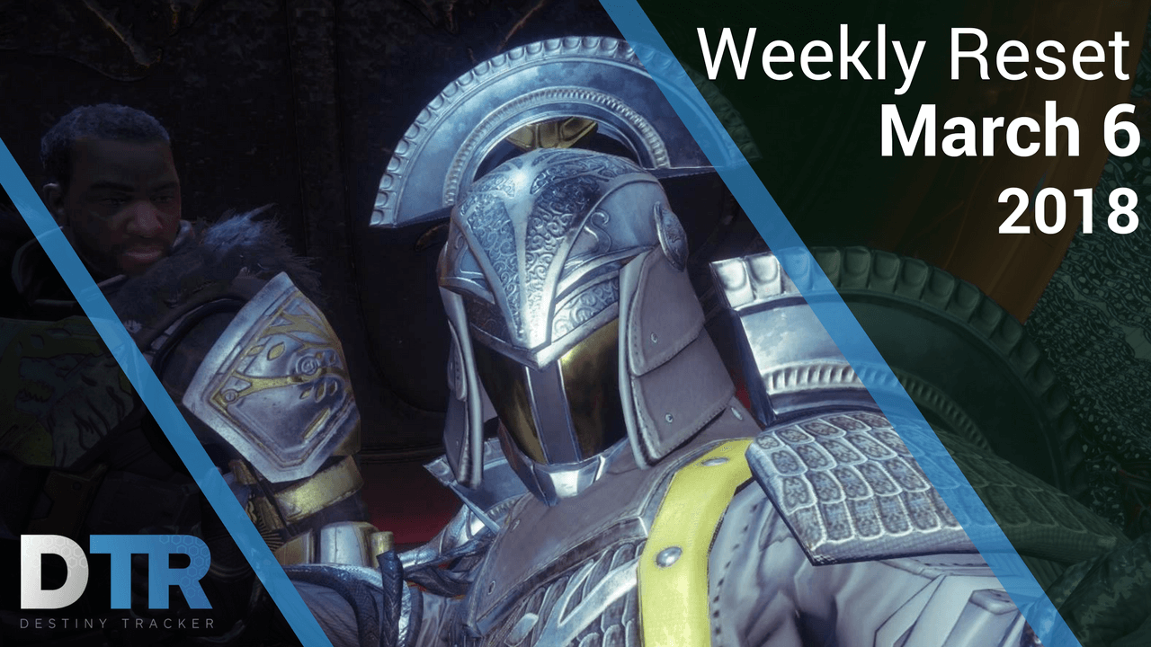 Weekly reset for March 6th - Iron Banner (article)