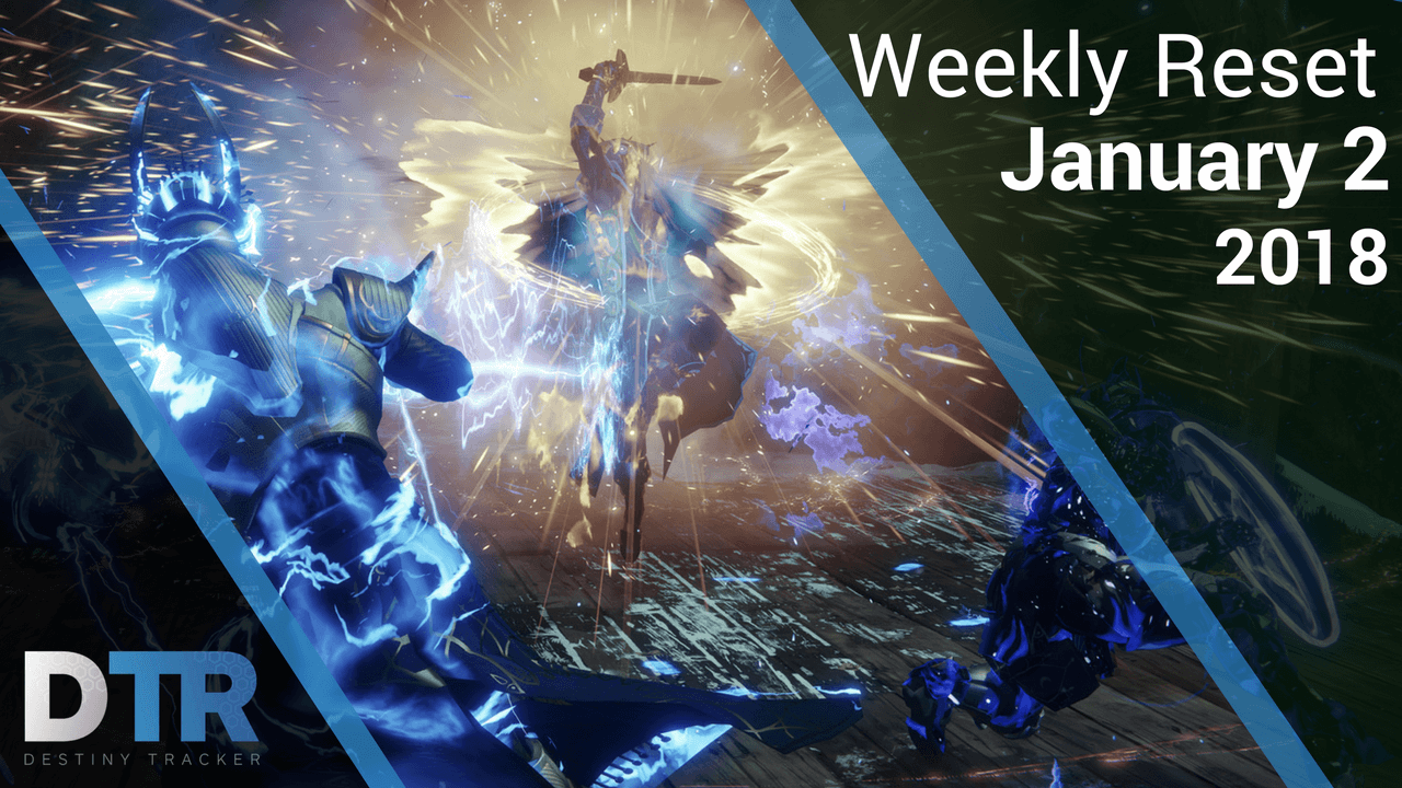 Weekly Reset for January 2nd