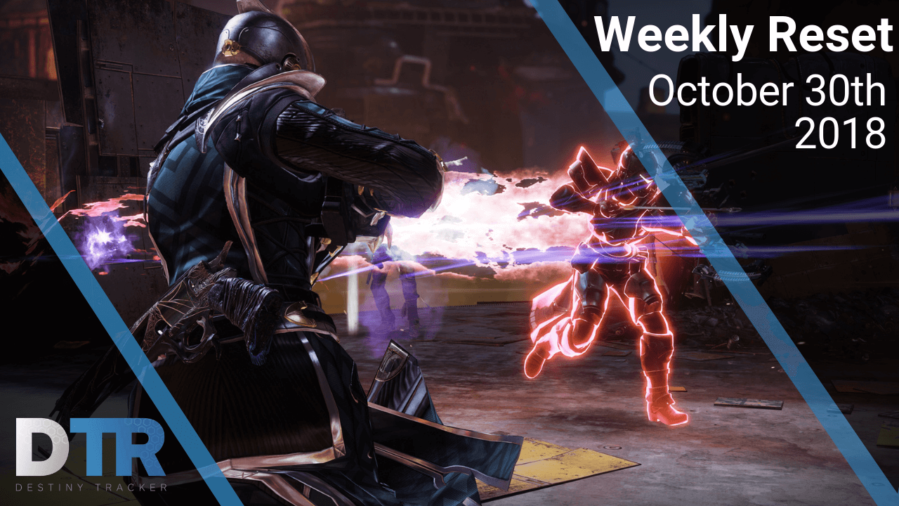 Weekly Reset for October 30th, 2018