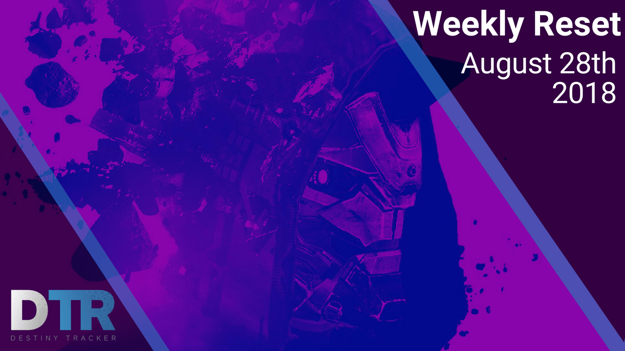 Weekly Reset for August 28th - Update 2 0
