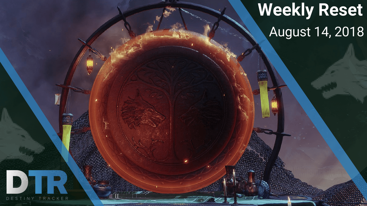 Weekly reset for August 14th - IRON BANNER