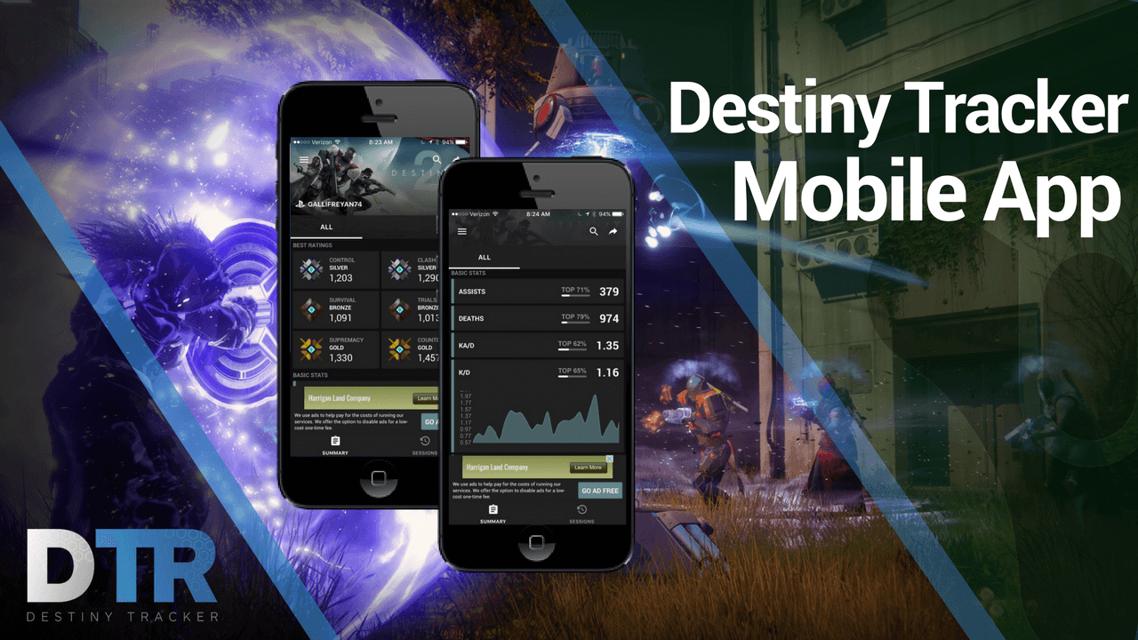 Announcing the launch of the new Destiny Tracker mobile app