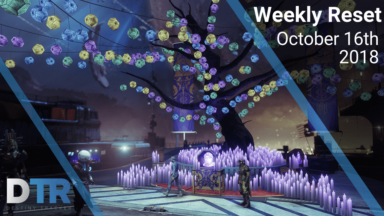 Weekly reset for October 16th, 2018