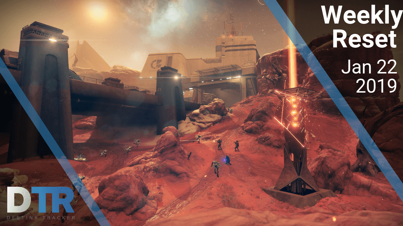 Weekly reset for January 22nd