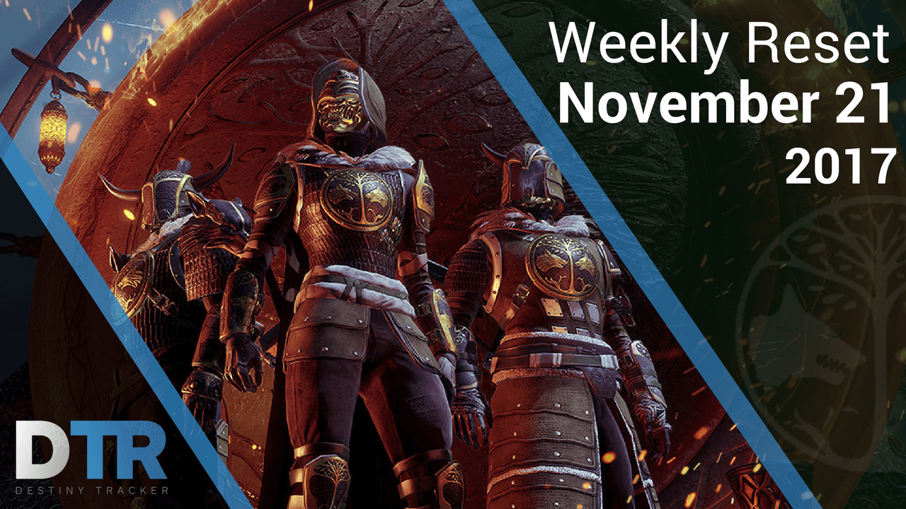 Weekly Reset for November 21st
