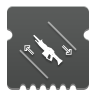 Icon depicting Auto Rifle Dexterity.