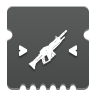 Icon depicting Auto Rifle Targeting.