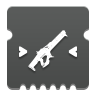 Icon depicting Linear Fusion Rifle Targeting.