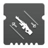 Icon depicting Machine Gun Dexterity.
