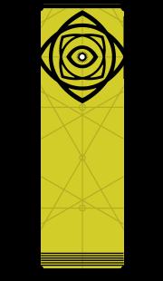 Icon depicting Osiris.