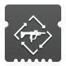 Icon depicting Submachine Gun Loader.