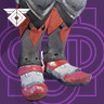 Icon depicting Fire-Forged Titan Leg Ornament.