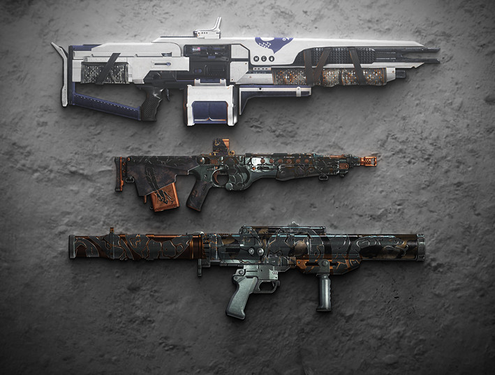 Icon depicting New Legendary Weapon Ornaments.