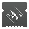 Icon depicting Submachine Gun Dexterity.