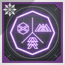 Icon depicting Void-Tinged Class Item Glow.