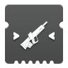 Icon depicting Pulse Rifle Targeting.
