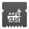Icon depicting Submachine Gun Reserves.