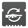 Icon depicting Machine Gun Loader.