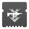 Icon depicting Submachine Gun Ammo Finder.