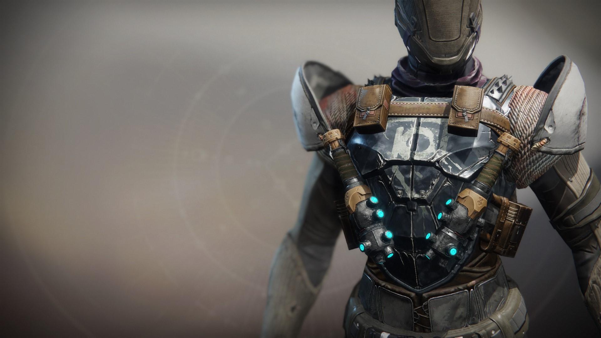 An in-game render of the Shock Grenadier.