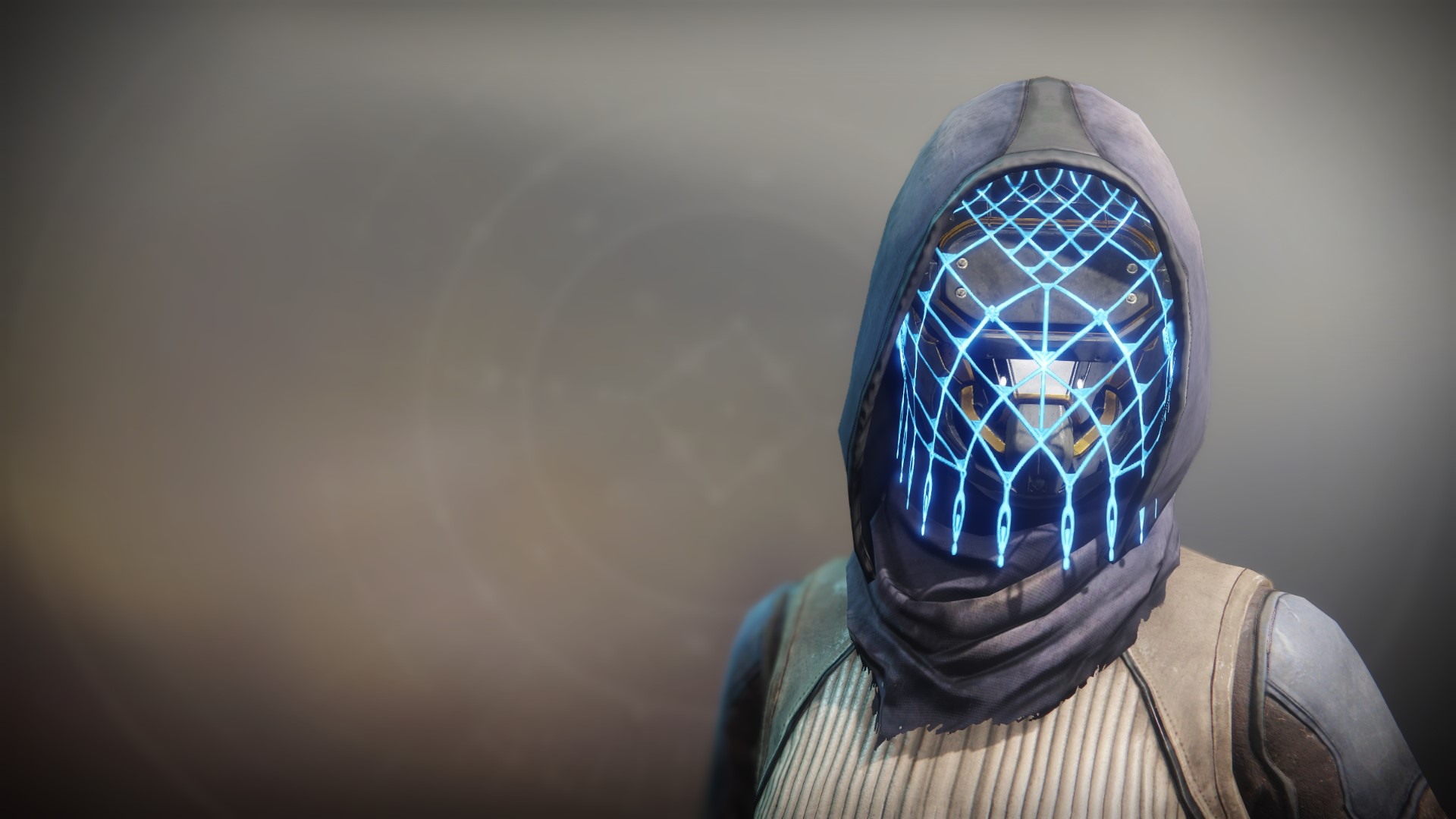An in-game render of the Assassin's Cowl.