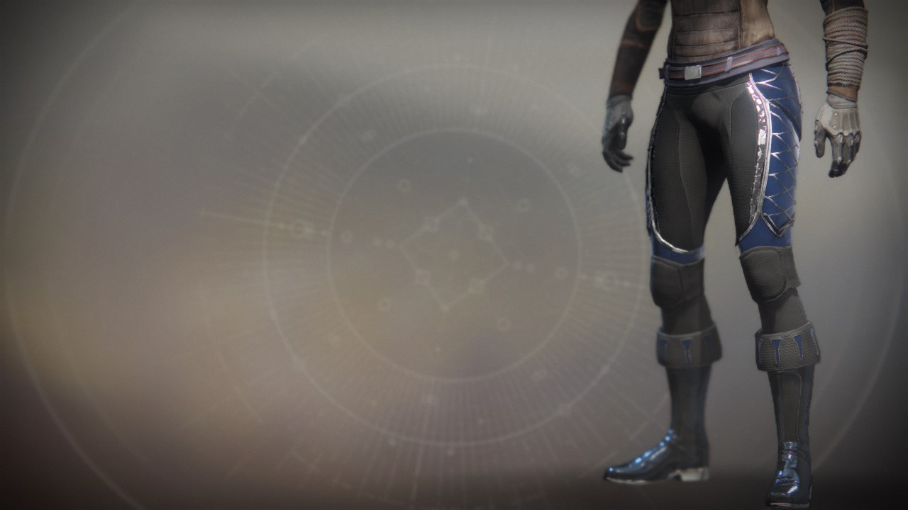 An in-game render of the Legs of Optimacy.