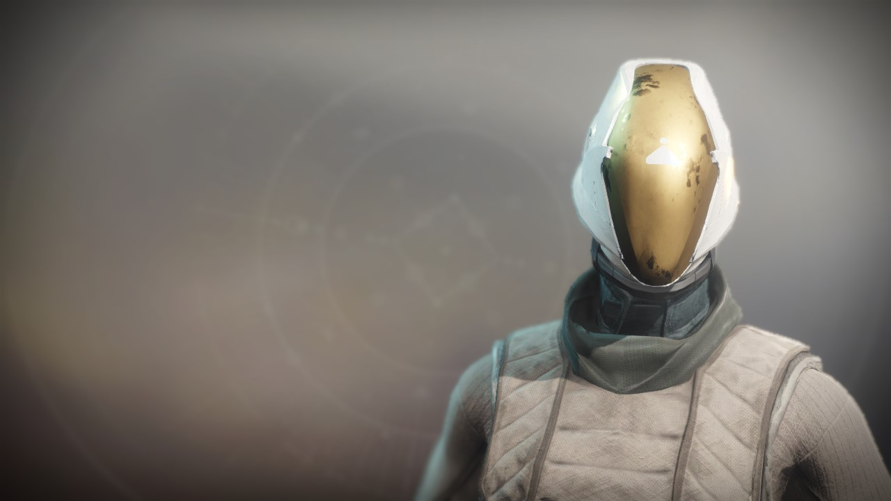 An in-game render of the Mask of the Fulminator.
