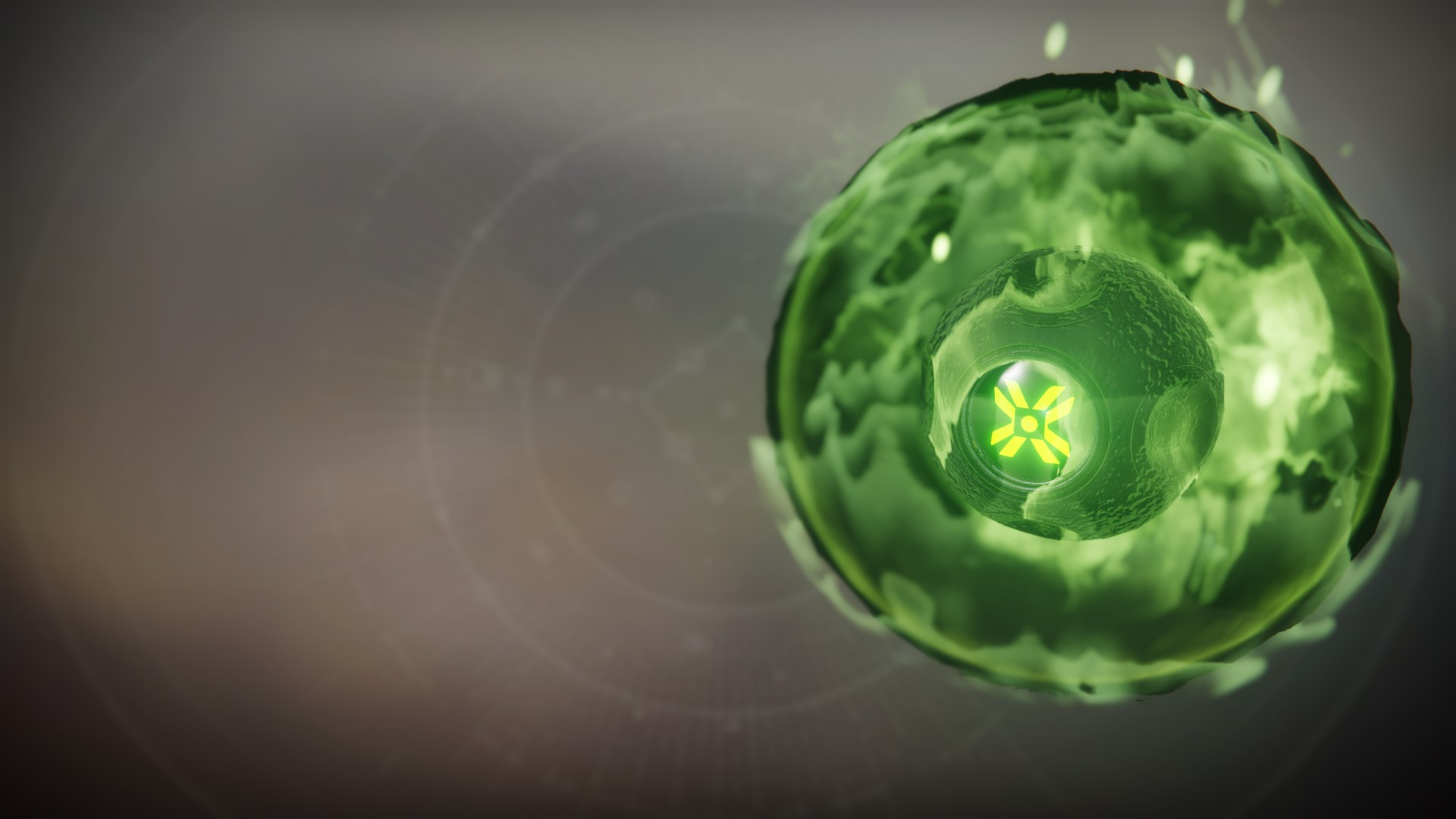 An in-game render of the Eris Morn Shell.