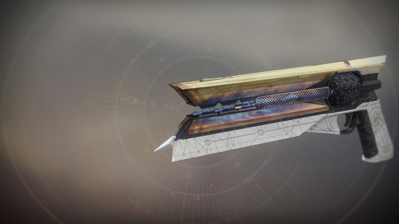 An in-game render of the Sunshot.