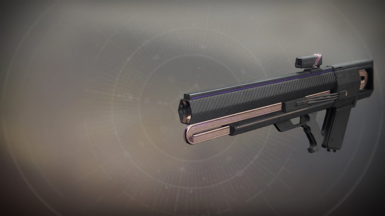 An in-game render of the Graviton Lance.