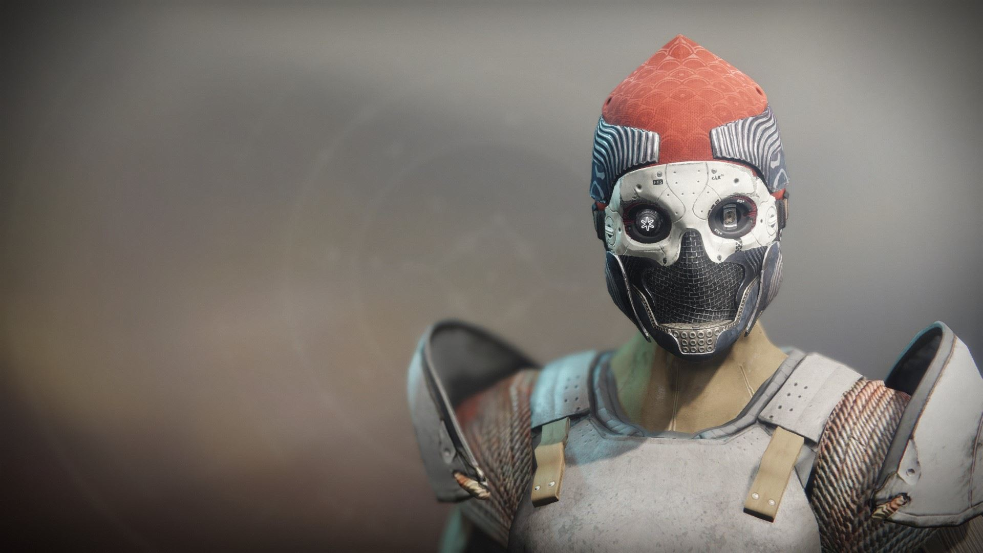 An in-game render of the One-Eyed Mask.