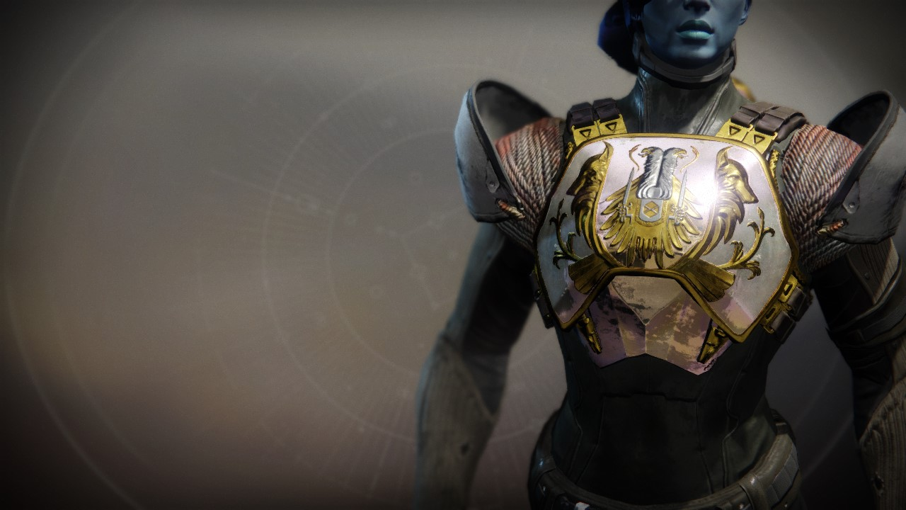 An in-game render of the Crest of Alpha Lupi.
