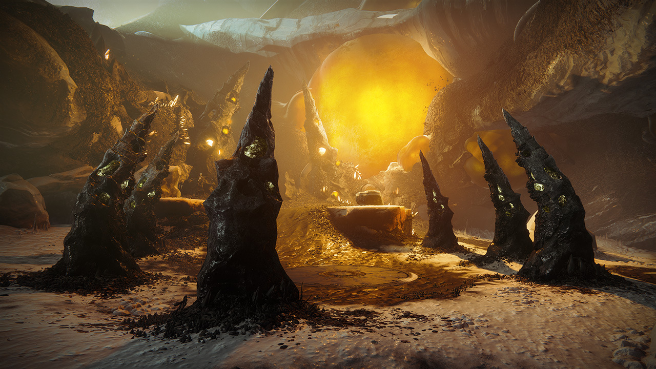 An in-game render of the Nightfall: Strange Terrain.